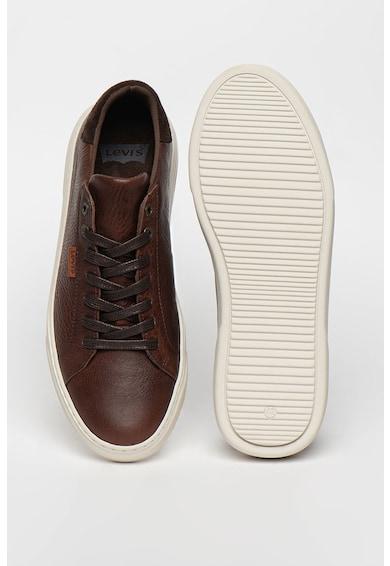 Levi's Pantofi sport de piele cu garnitura de piele intoarsa Briones Barbati