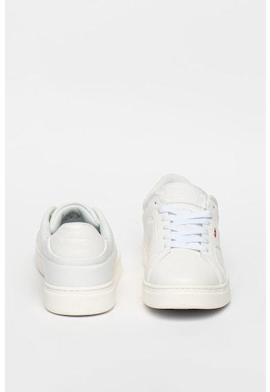 Levi's Pantofi sport de piele ecologica cu detalii logo Barbati