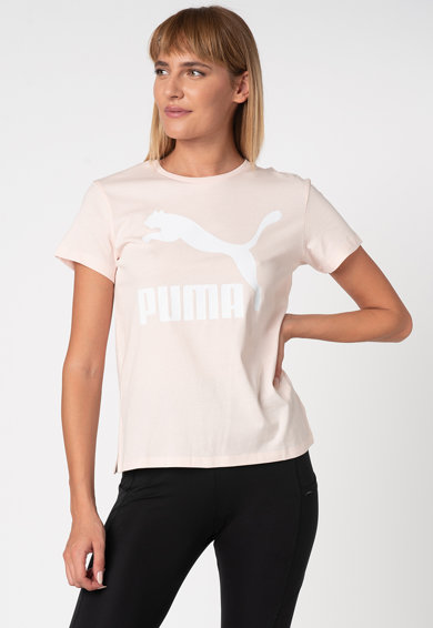 Puma Tricou cu imprimeu logo Classics Femei