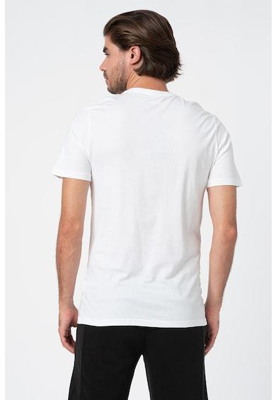 Puma Тениска с овално деколте и лого Мъже