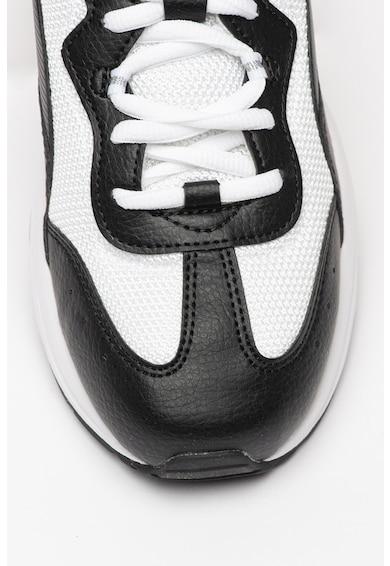 Puma Pantofi sport de piele ecologica cu insertii de plasa Cilia Femei