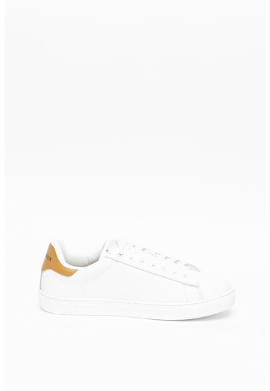 Trussardi , Pantofi sport de piele Dna Barbati