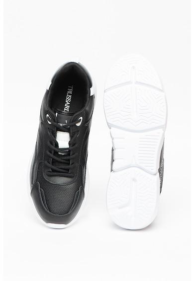 Trussardi , Pantofi sport de piele Tuia Barbati