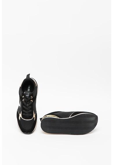 Trussardi Jeans Pantofi sport cu insertii de piele Celtik Femei