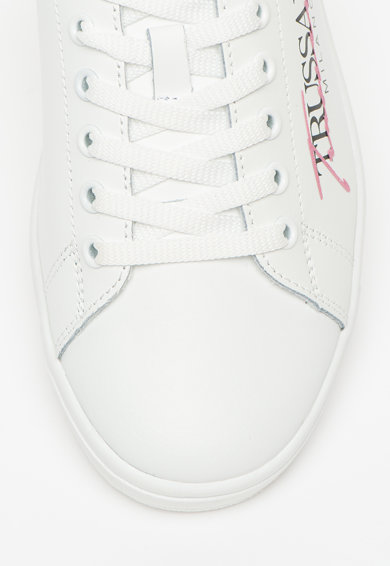 Trussardi Jeans Pantofi sport de piele, cu imprimeu logo Galium Femei