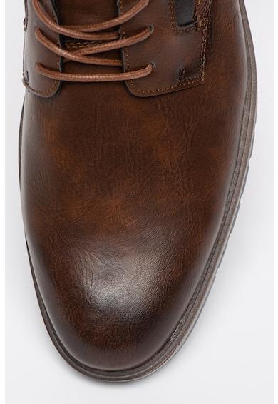 Tom Tailor Pantofi derby de piele ecologica Barbati