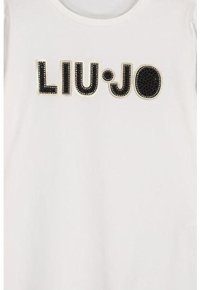 Liu Jo Блуза с овално деколте и лого Момичета