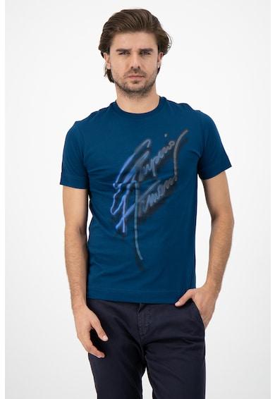 Emporio Armani Тениска с уголемено лого Мъже