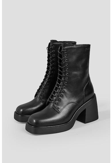 Vagabond Shoemakers Botine de piele cu toc inalt si sireturi Brooke Femei