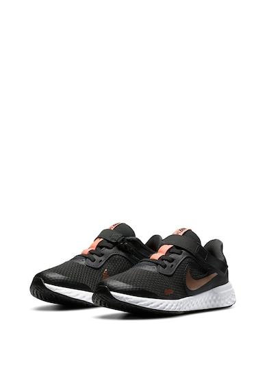 Nike Pantofi sport cu insertii de plasa Revolution 5 Fete