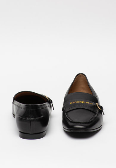 Emporio Armani Pantofi loafer de piele Femei
