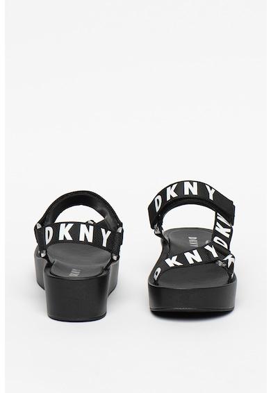 DKNY Sandale wedge cu velcro Ayli Femei