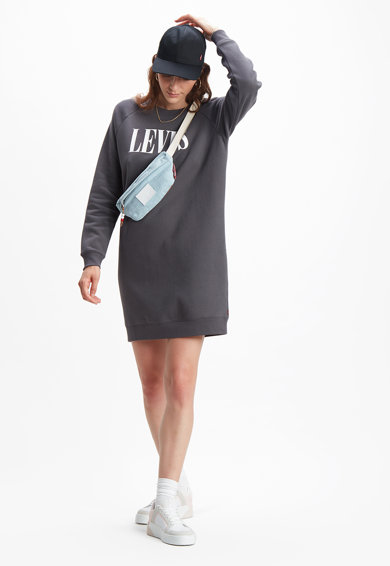 Levi's Rochie tip bluza sport cu maneci raglan Femei