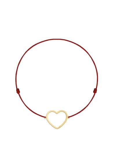 MALVENSKY Копринена гривна със сърцевидна висулка Жени