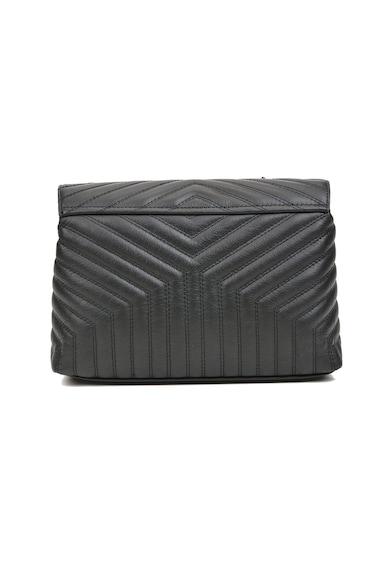 Luisa Vannini Кожена чанта с рипсен дизайн Жени