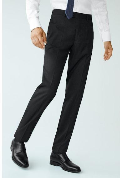 Mango Прав елегантен панталон Janeiro Мъже