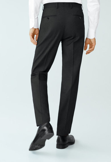 Mango Pantaloni eleganti drepti Janeiro Barbati
