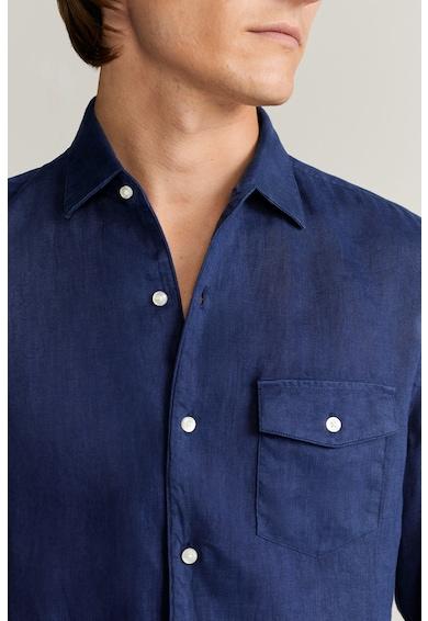 Mango Риза Talper с джоб на гърдите Мъже
