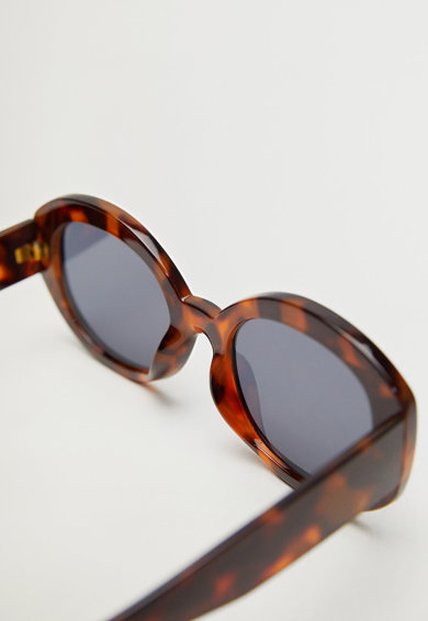 Mango Уголемени овални слънчеви очила Immas Жени