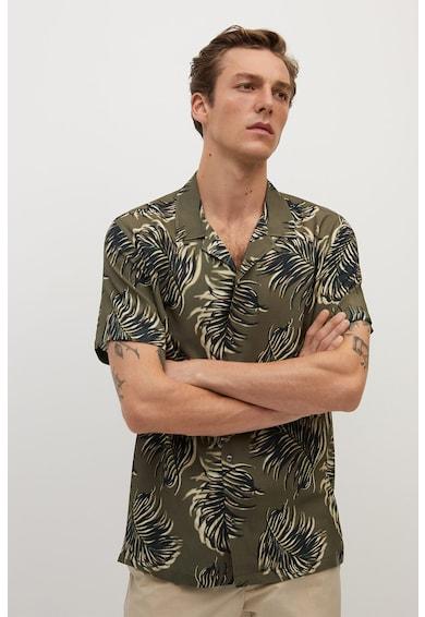 Mango Риза Tole с флорална шарка Мъже