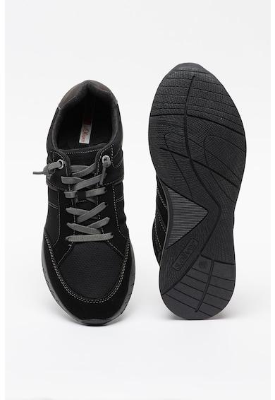 s.Oliver Pantofi sport din piele ecologica Barbati
