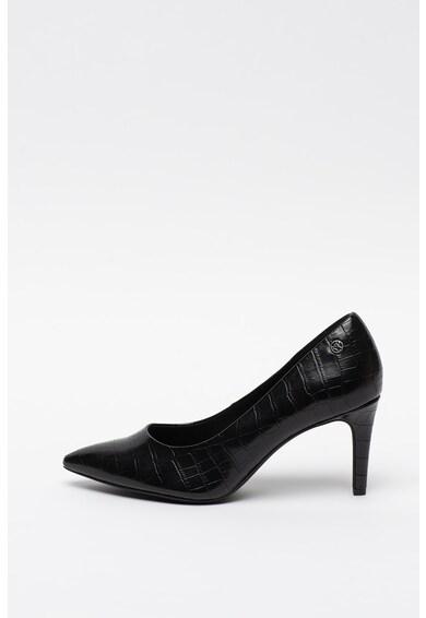 s.Oliver Pantofi din piele ecologica cu aspect de piele de crocodil Femei
