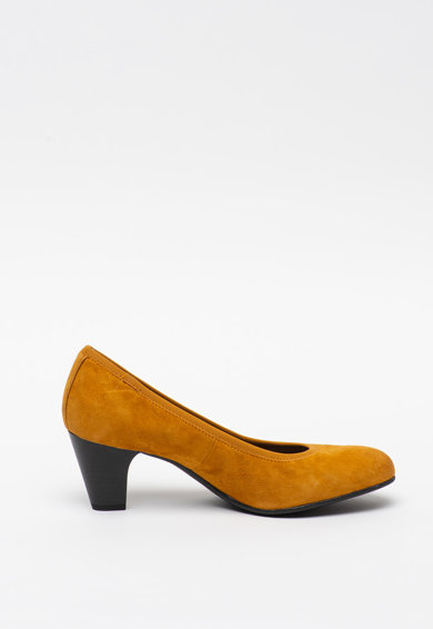 s.Oliver Pantofi din piele intoarsa cu toc masiv Femei