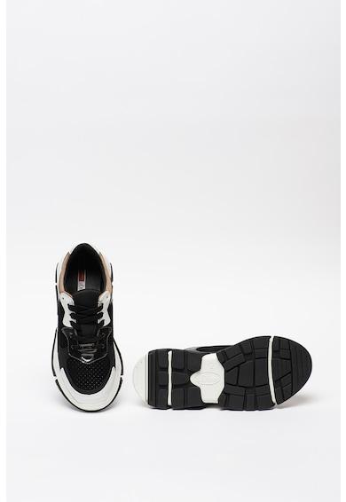 s.Oliver Pantofi sport cu aspect masiv si insertii metalizate Femei