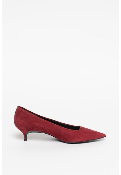Furla Pantofi de piele intoarsa cu toc si varf ascutit Femei