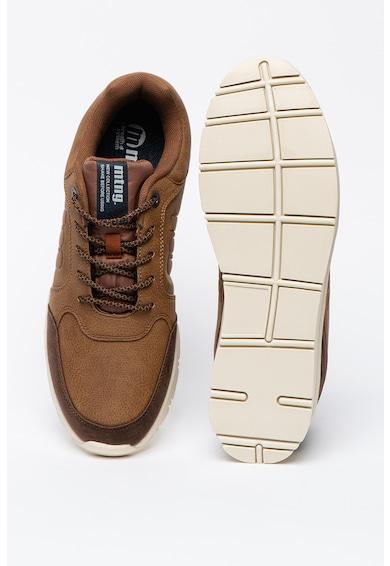 MTNG Pantofi sport cu insertii din piele intoarsa ecologica Barbati