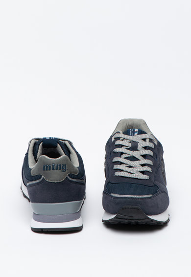 MTNG Pantofi sport din piele intoarsa ecologica cu insertii din plasa Barbati