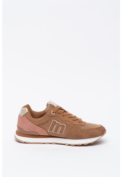 MTNG Pantofi sport din piele intoarsa ecologica cu insertii din plasa Femei