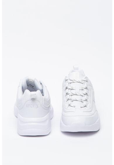 MTNG Pantofi sport wedge din piele ecologica Femei