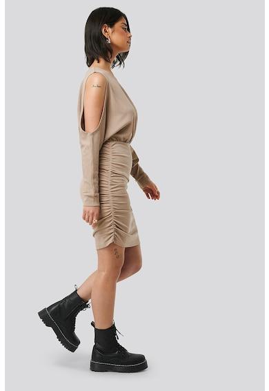 NA-KD Rochie mini cu decolteu pe un umar Femei