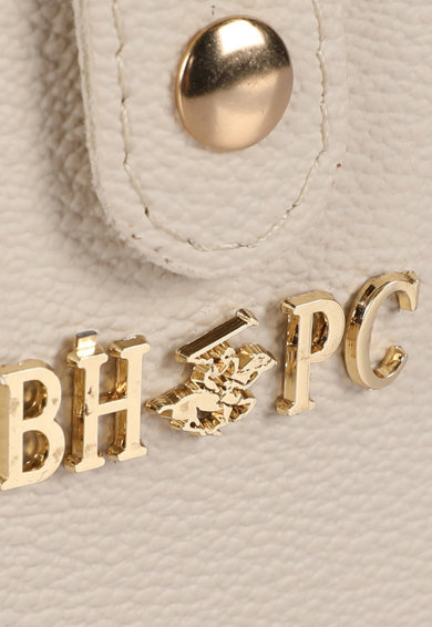 Beverly Hills Polo Club Portofel de piele ecologica cu aplicatie logo metalica Femei
