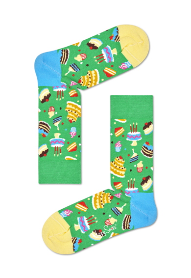 Happy Socks Унисекс чорапи с шарки - 1 чифт Жени