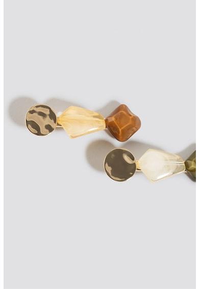 NA-KD Set de agrafe de par - 2 piese Femei
