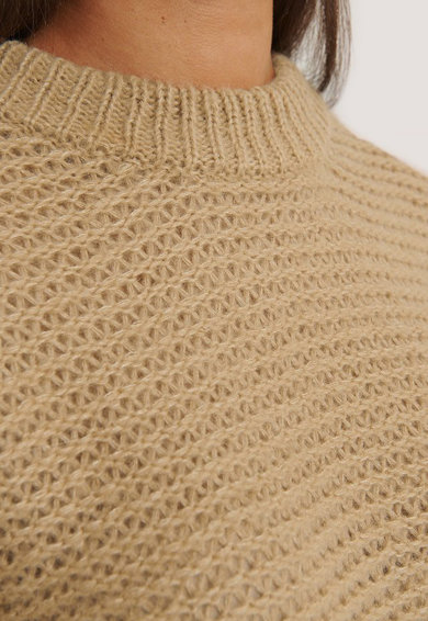 NA-KD Pulover lejer din amestec de lana Femei