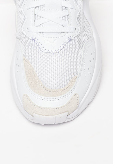 Puma Pantofi sport cu insertii de plasa Rise Glow Femei