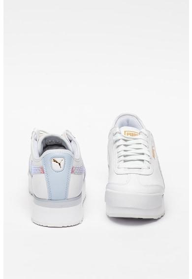 Puma Pantofi sport de piele, cu garnituri de piele ecologica Femei