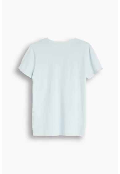 Levi's Tricou cu decolteu la baza gatului si imprimeu logo 05 Femei