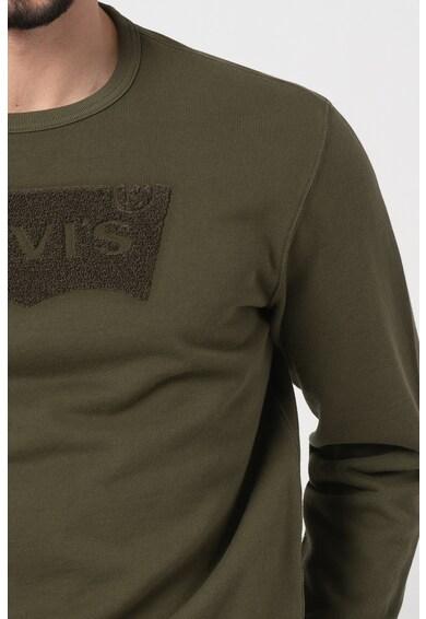 Levi's Bluza sport cu decolteu la baza gatului Barbati