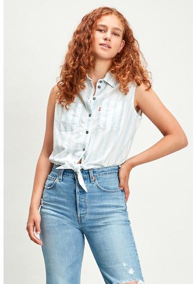 Levi's Риза Amber без ръкави с възел отпред Жени