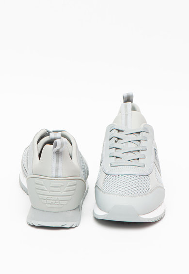 EA7 Pantofi sport cu insertii de plasa Femei