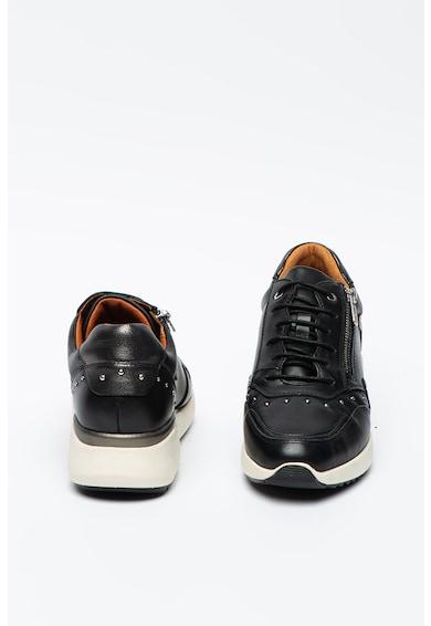 Pikolinos Sella bőr sneaker szegecses rátétekkel női