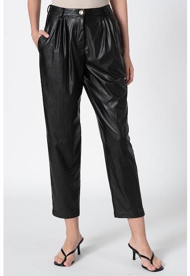 Custo Barcelona Pantaloni crop de piele ecologica Femei