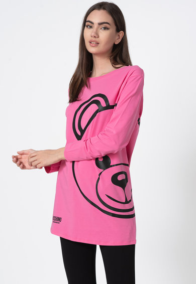 Moschino Bluza de casa cu imprimeu grafic Femei