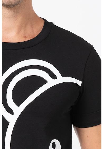 Moschino Tricou de casa cu model grafic Barbati