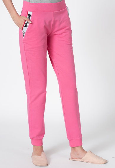 Moschino Pantaloni de pijama cu logo Femei