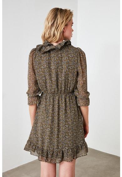 Trendyol Къса рокля с набиряния Жени